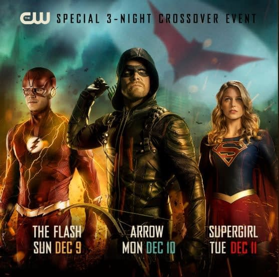 cw arrowverse crossover dates