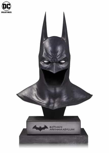DC Collectibles NYCC Batman Arkham Asylum Cowl