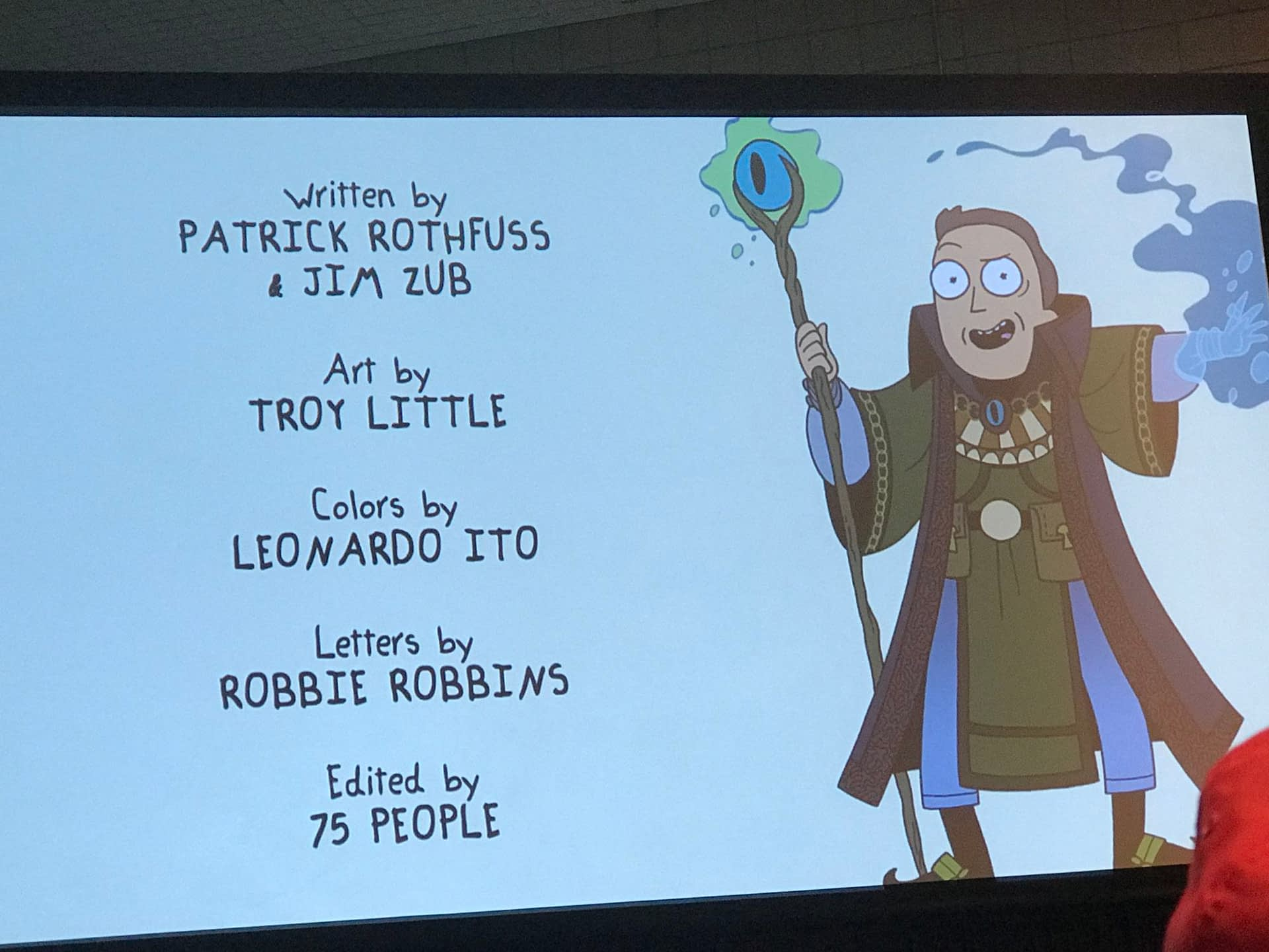Rick and Morty D&D NYCC
