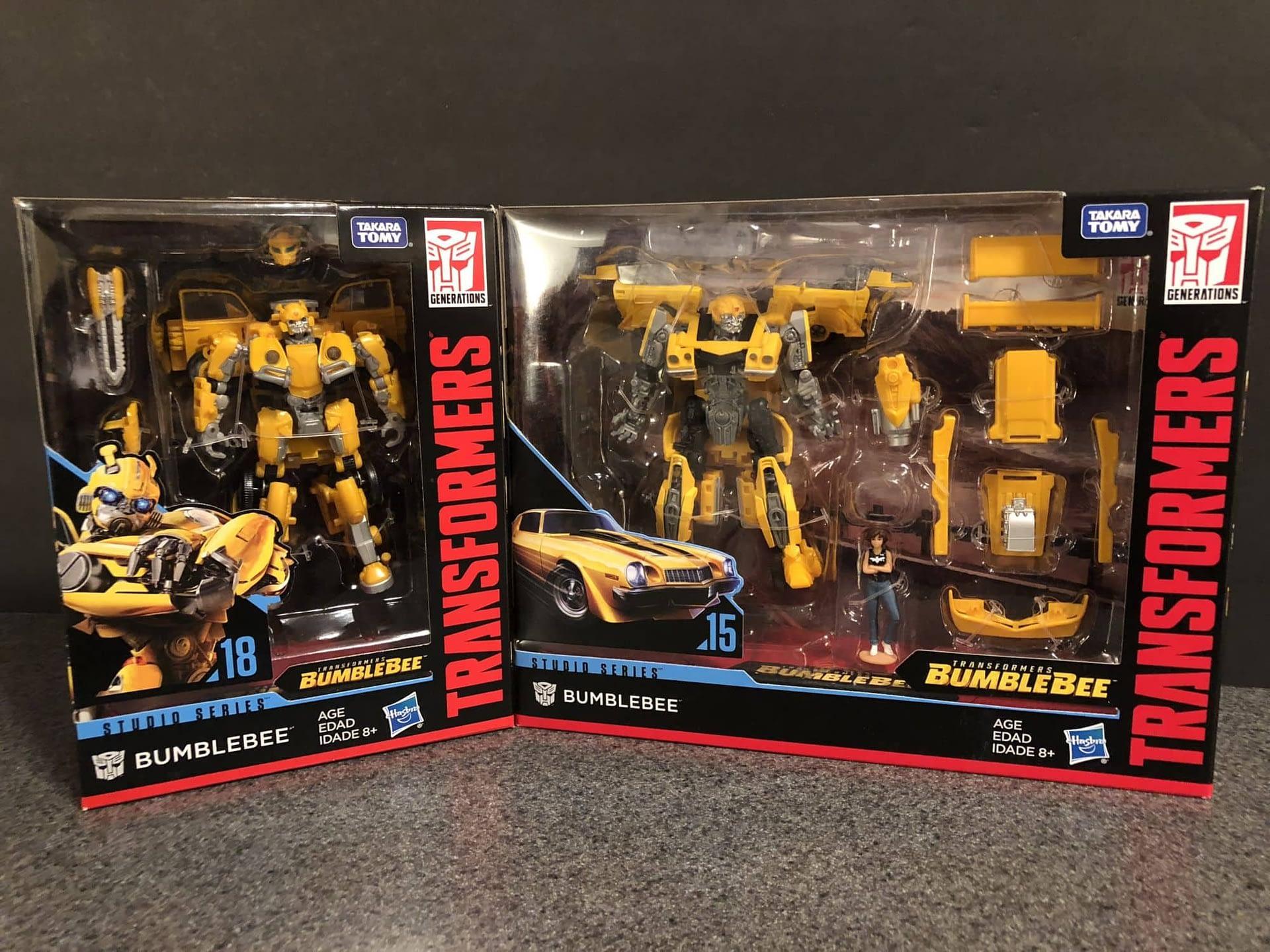 Hasbro Bumblebee Toys 3
