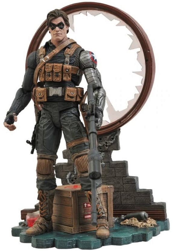Marvel Select Comic Winter Soldier