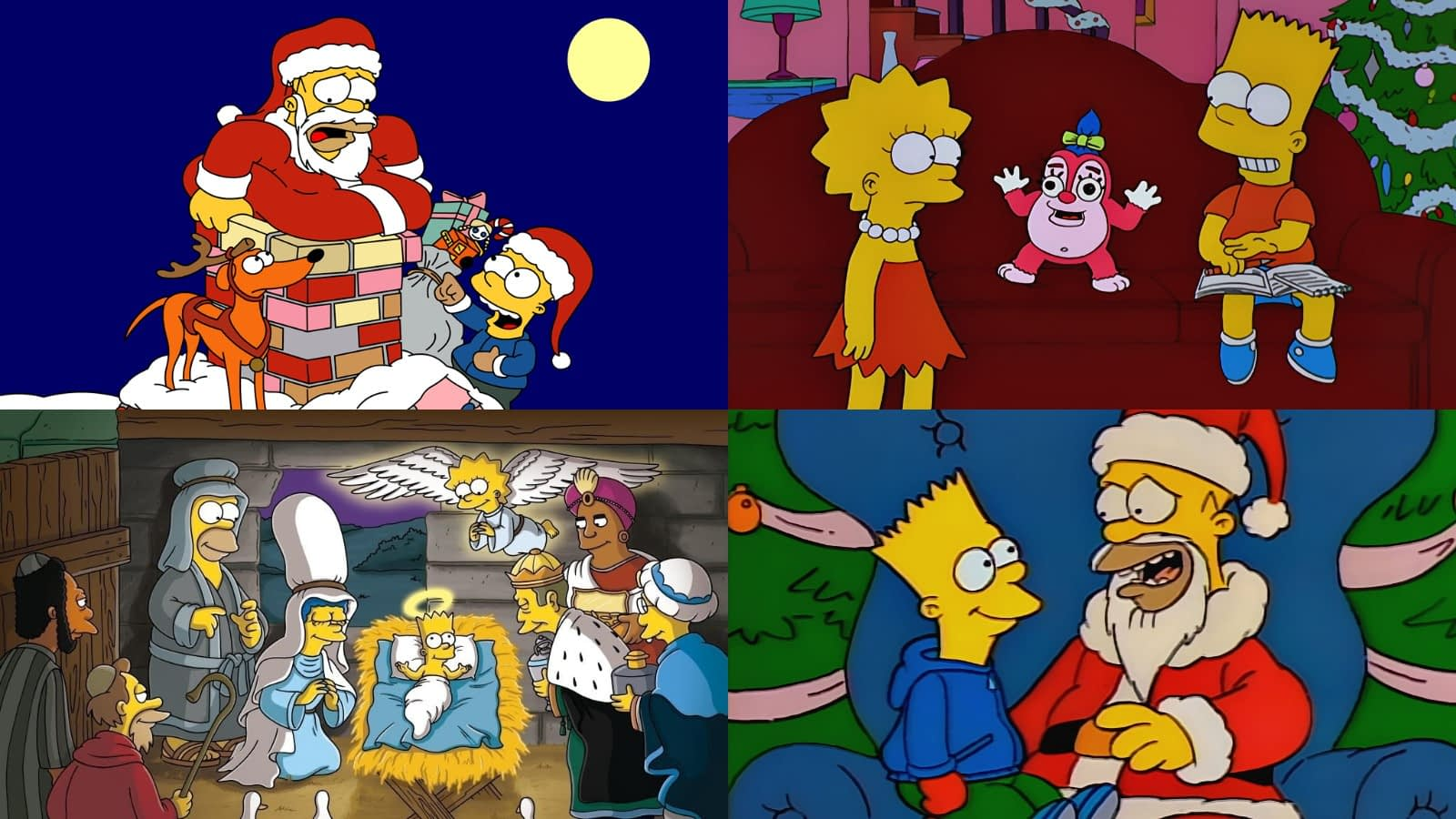 Doh Doh Doh 16 Simpsons Christmas Episodes From