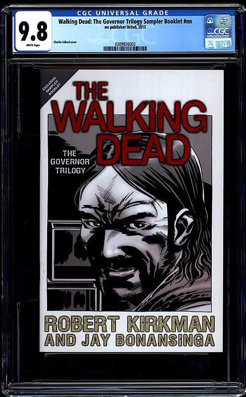 Comic Connect Walking Dead Govenor Sampler