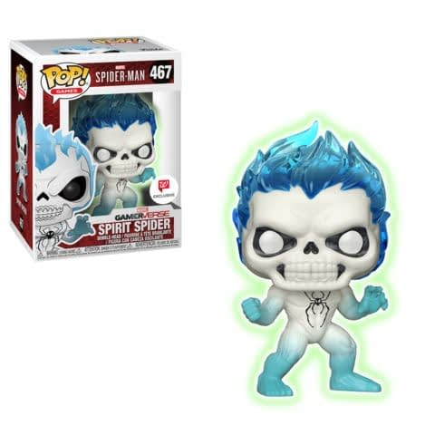 Funko Spider-Man SPirit Spider Game Pop