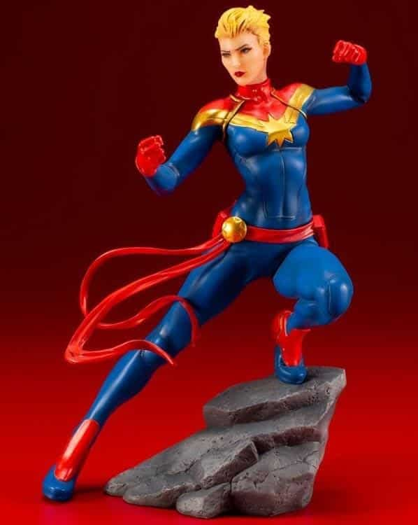 Captain Marvel Kotobukiya Statue 1