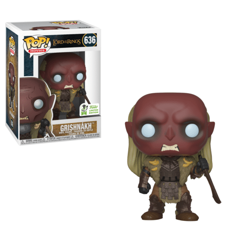 Funko ECCC LOTR Grishnakh Barnes and Noble