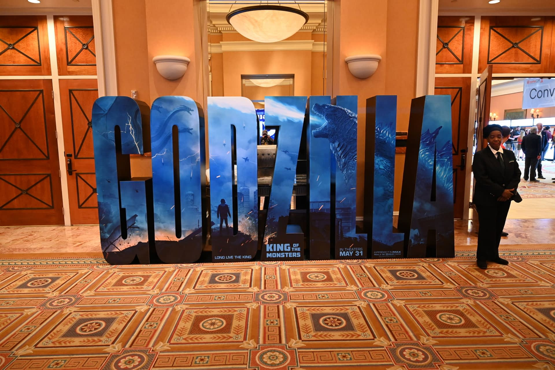 [CinemaCon 2019] Standees and Posters for Godzilla: King of the Monsters