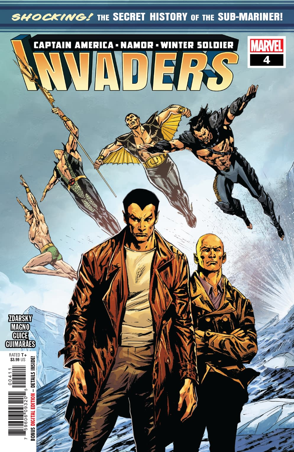 Namor, Really Just an Undersea Softy? Next Week's Invaders #4