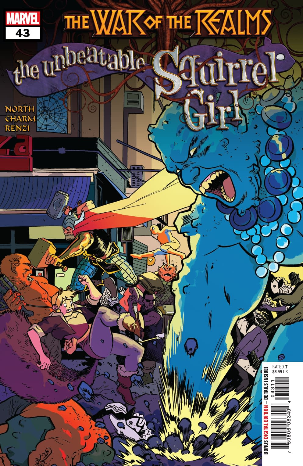 How Squirrel Girl Joins the War of the Realms in Next Week's Unbeatable Squirrel Girl #43