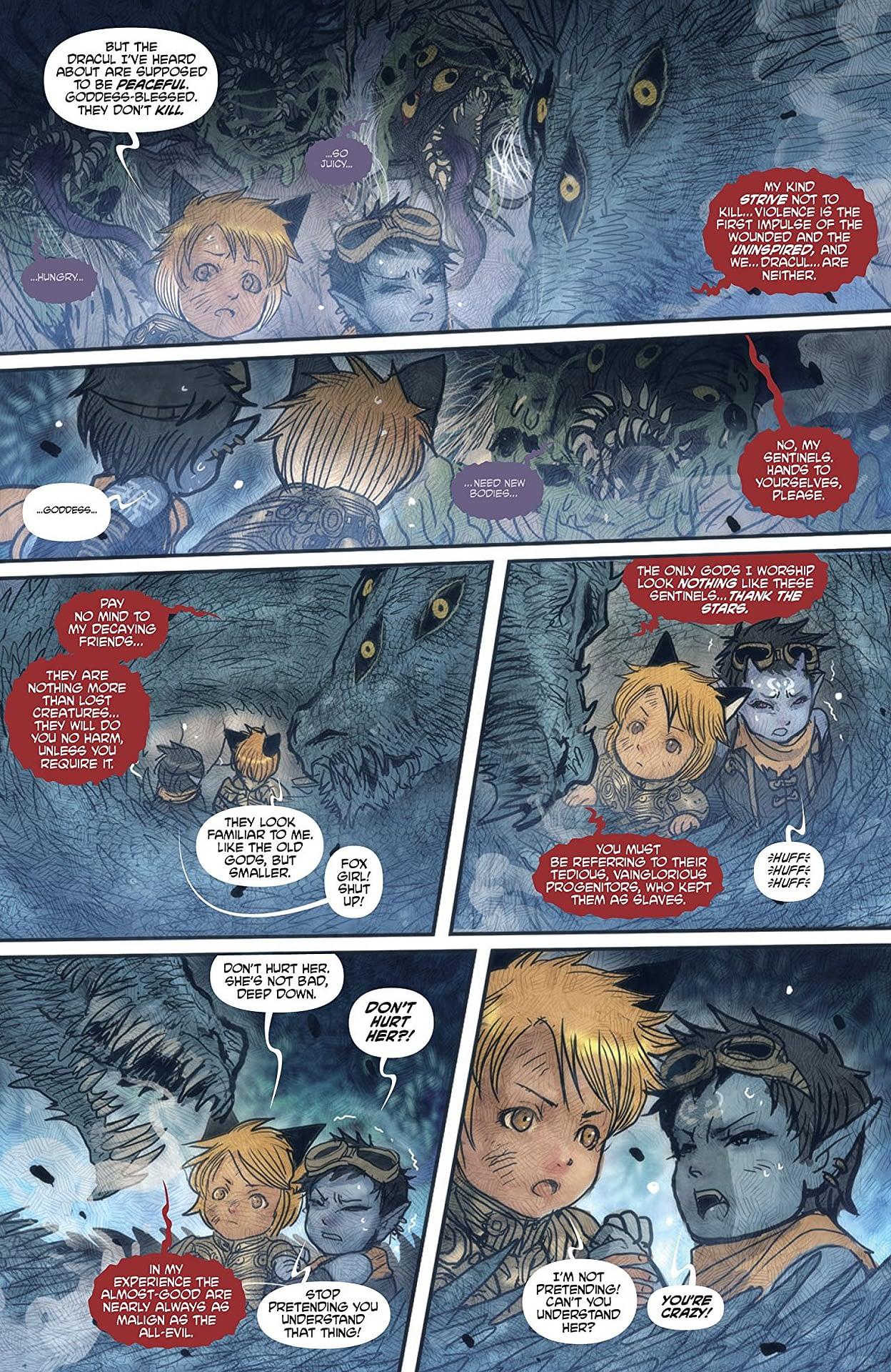 'Monstress' #22: Kippa Makes a Big New (Scary) Friend!