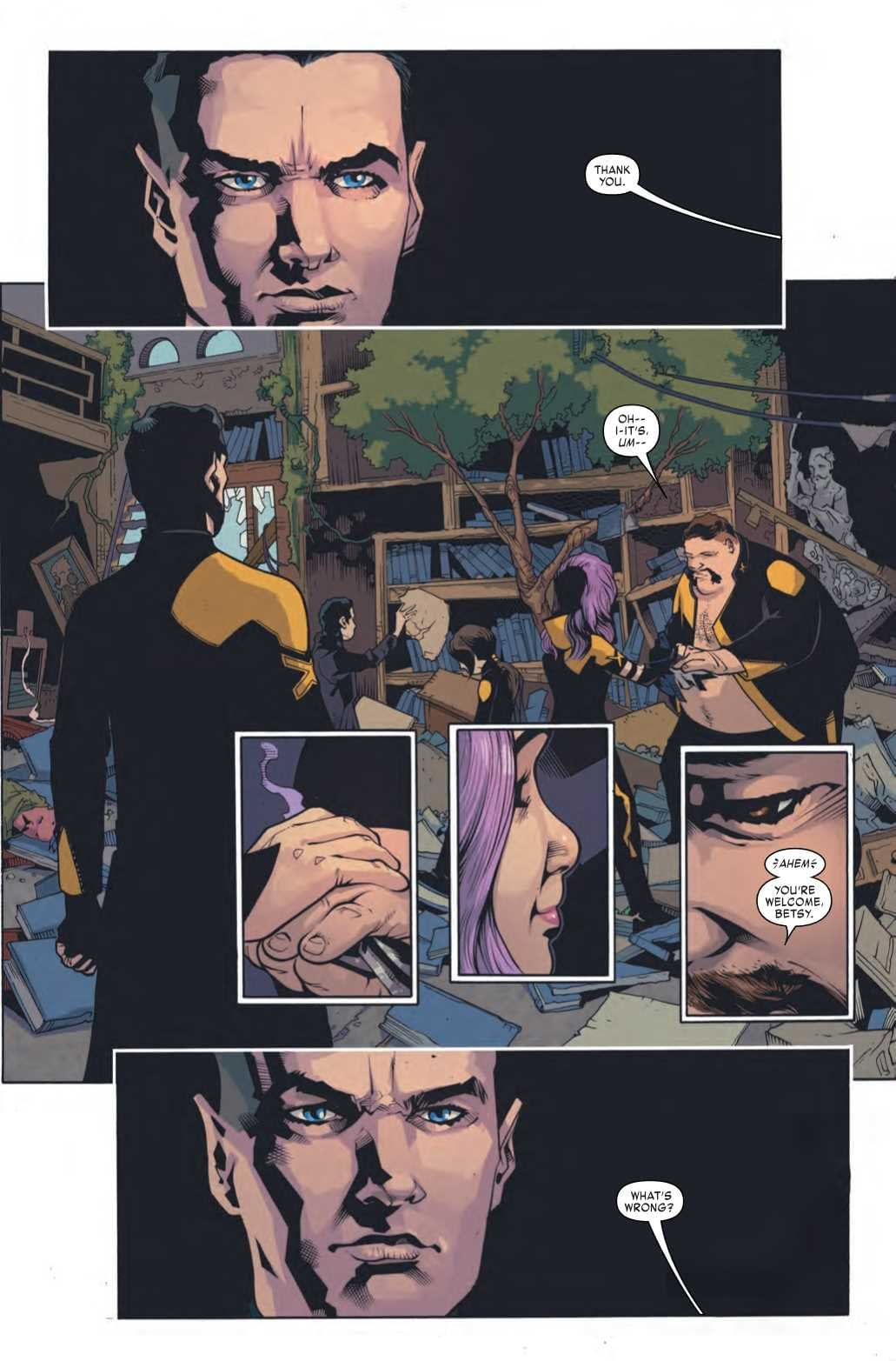 The Intimacy of Touch in Age of X-Man: X-Tremists #4 (Preview)