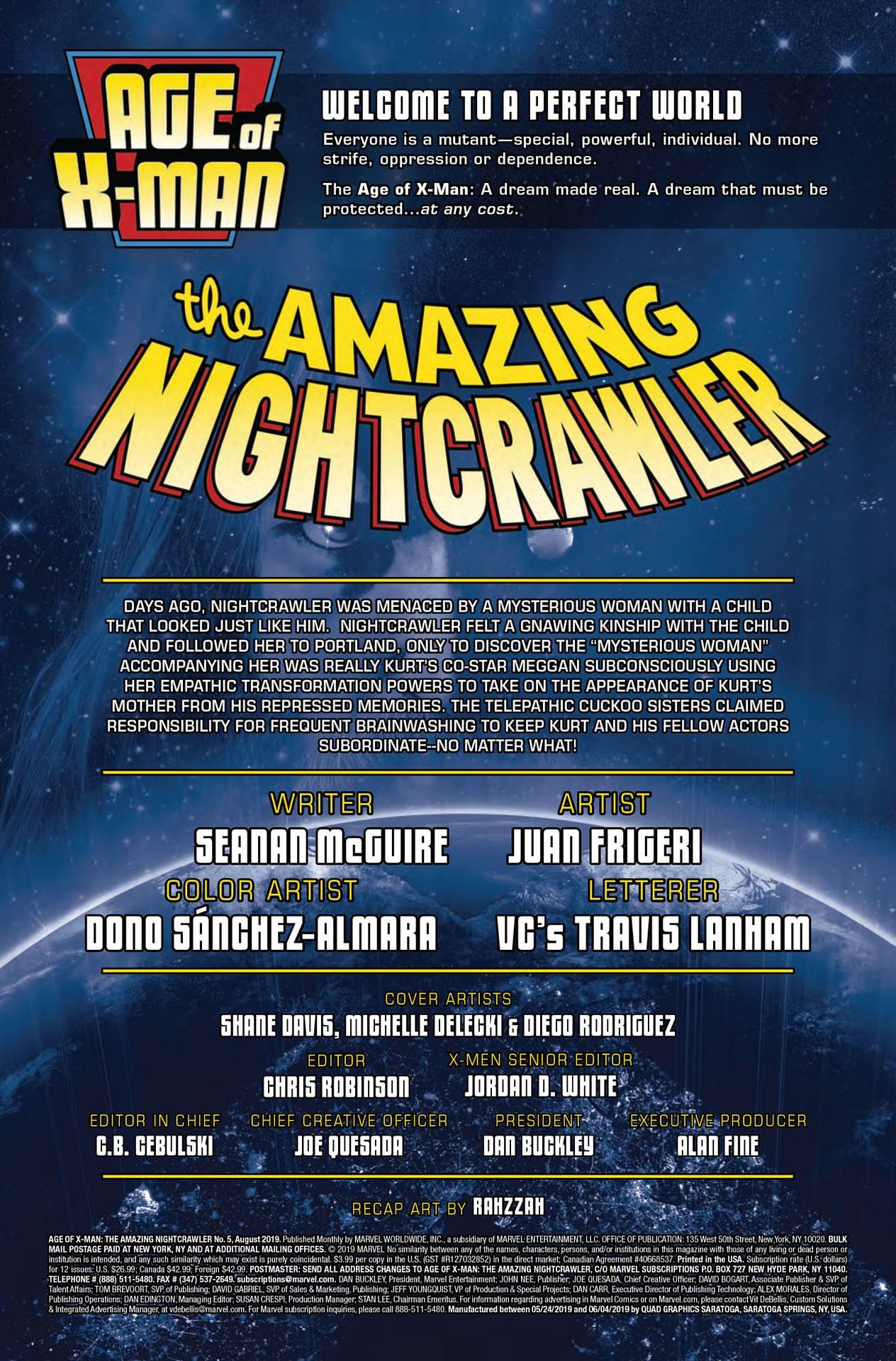 That's Gratitude For Ya! Amazing Nightcrawler #5 Preview