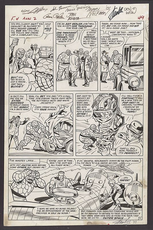 Great Comics and Original Art Up For Auction Right Now on Comic Connect