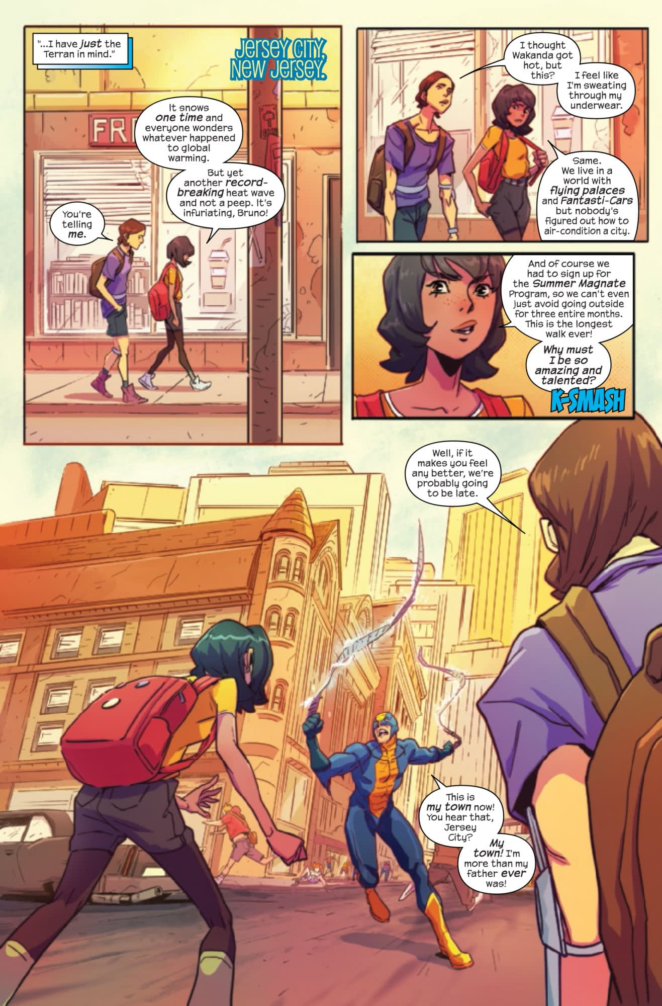 Mister... Er, Captain Miracle Comes to Magnificent Ms. Marvel Annual #1 (Preview)