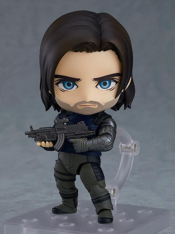 Avengers Buddies Bucky and Rocket get an Adorable Nendoroid Figure