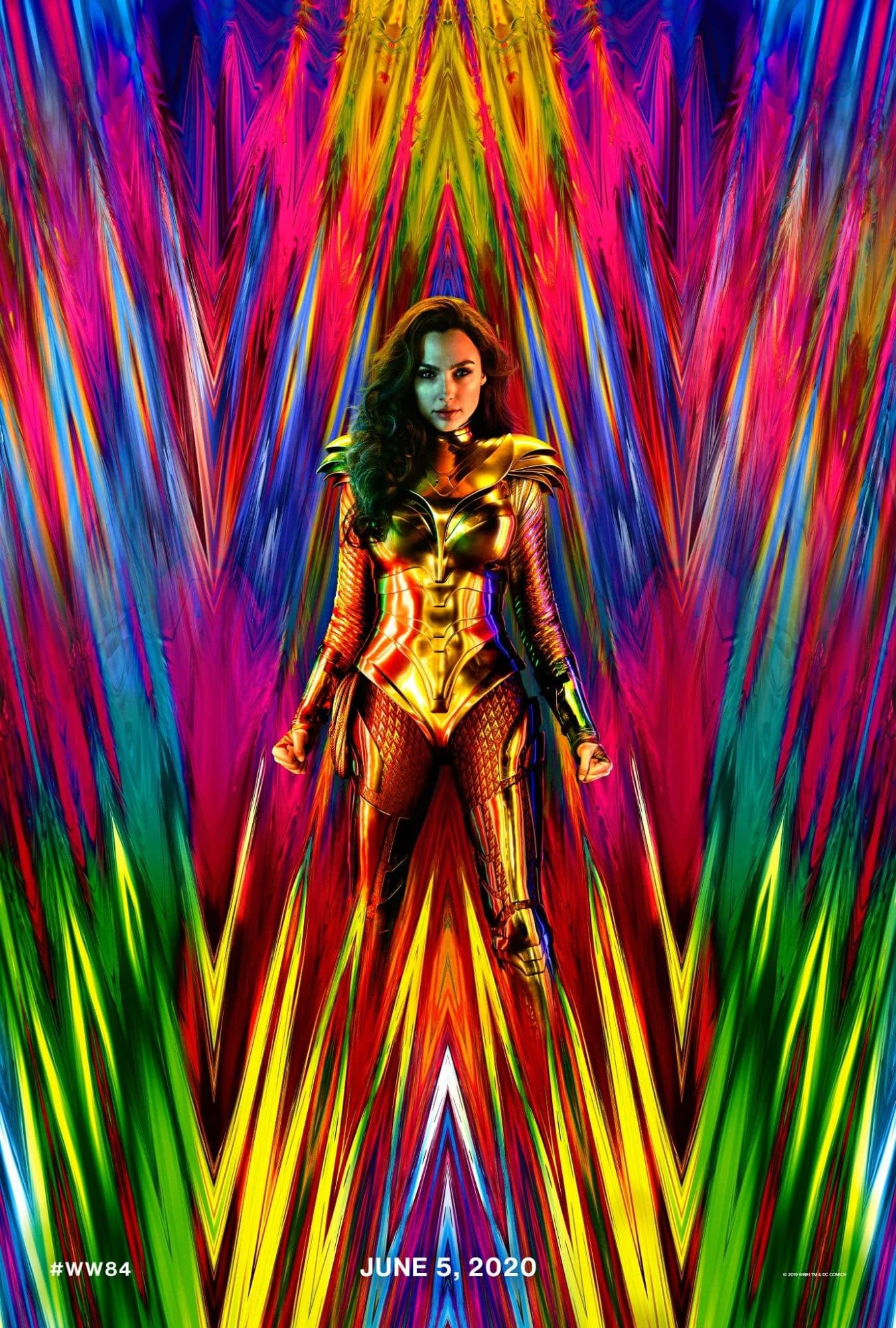 'Wonder Woman: 1984' Poster Shared by Patty Jenkins