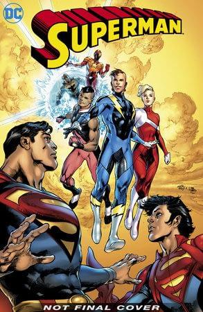 Superboy's New Costume For DC Comics