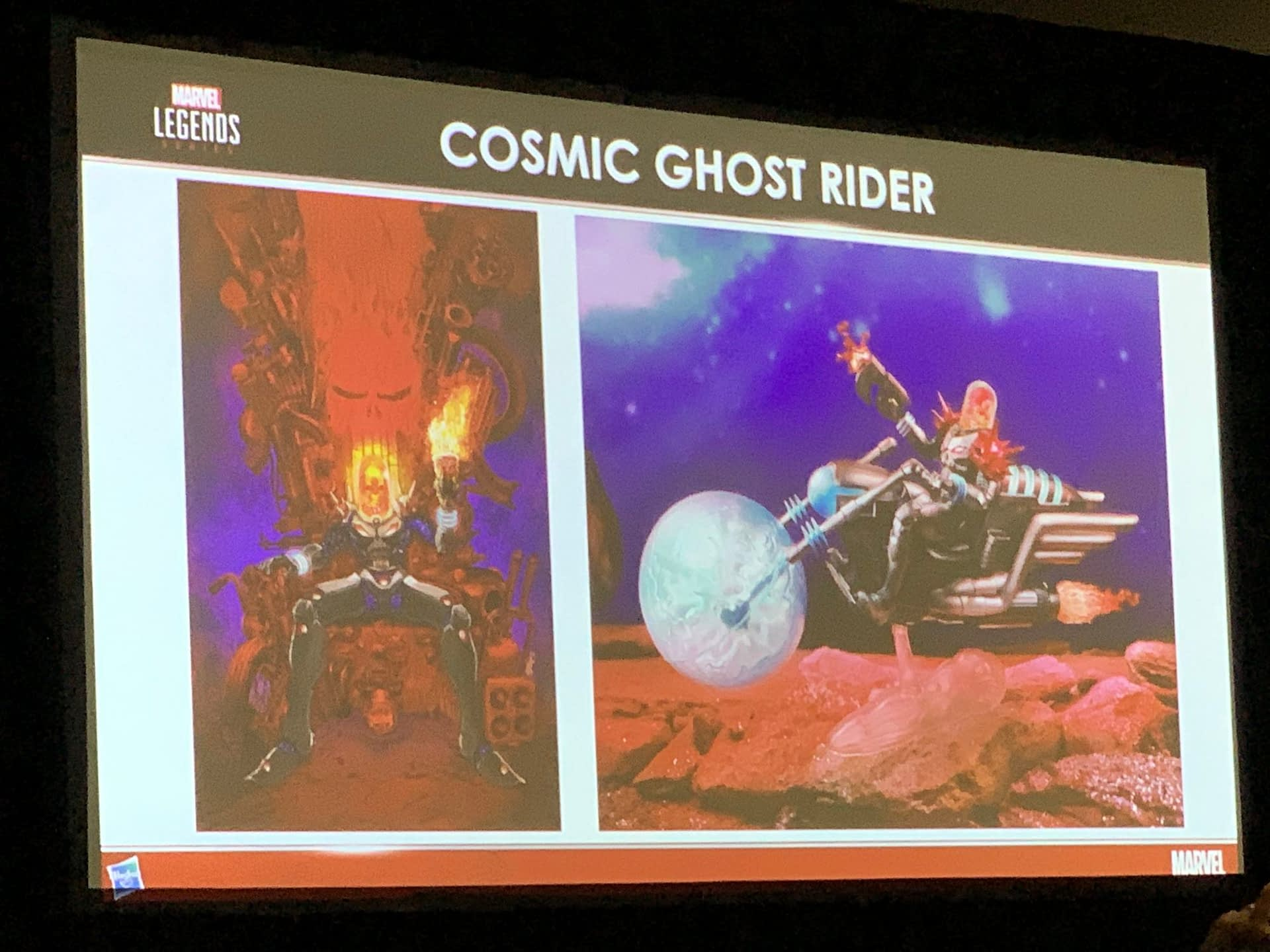 Marvel Legends Reveals Come Fast and Furious at Hasbro's SDCC Panel