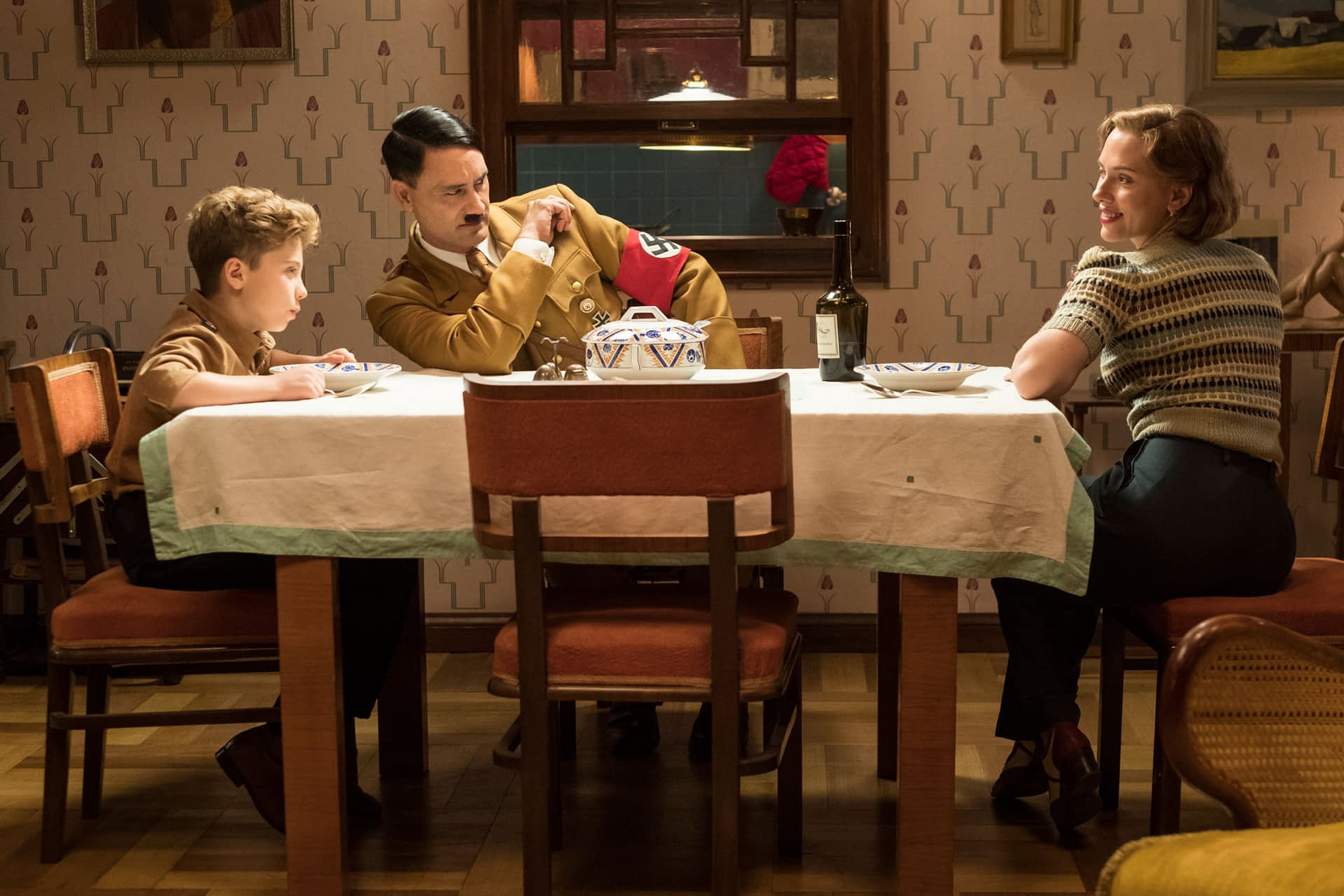 Jojo, His Friend Hitler, and His Mom