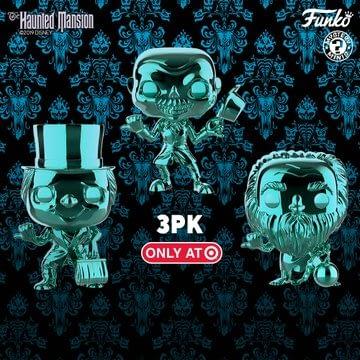 Haunted Mansion Celebrates 50th Anniversary With Funko