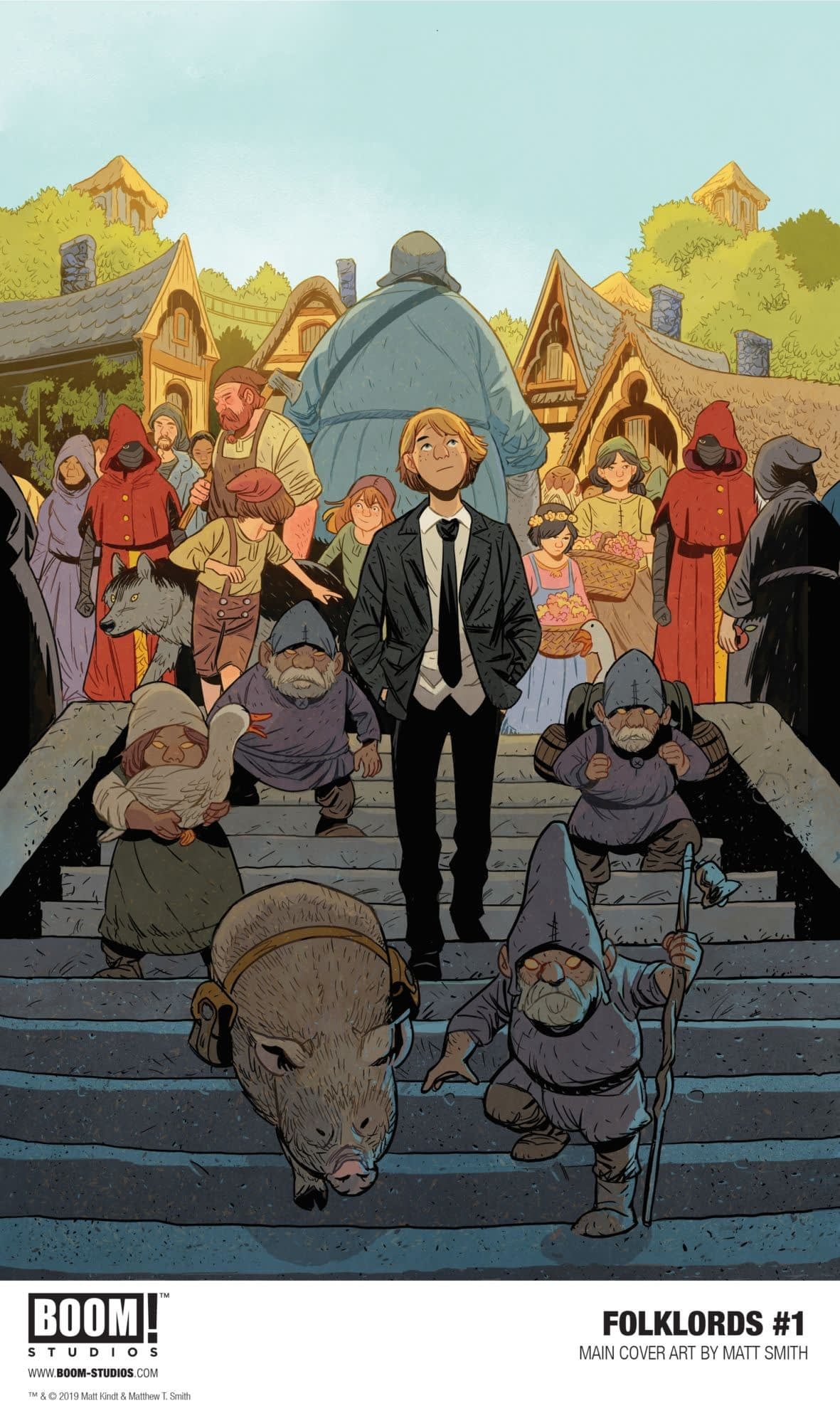 Matts Kindt and Smith Launch Folklords at BOOM! in November