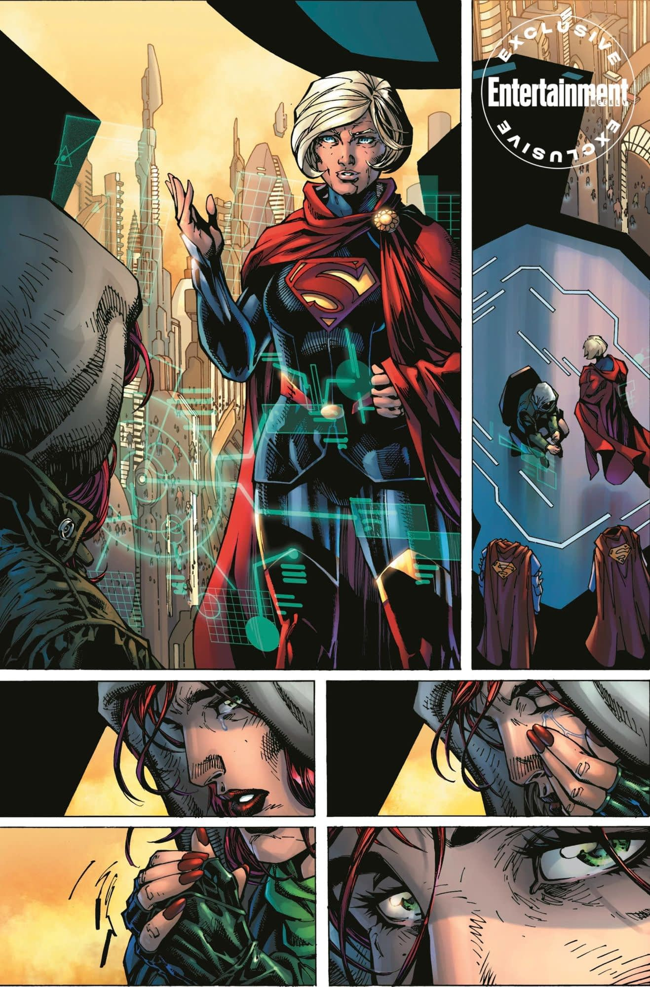 First Look at Jim Lee's Art from Legion of Superheroes, DC's Answer to Burning Amazon Rainforests