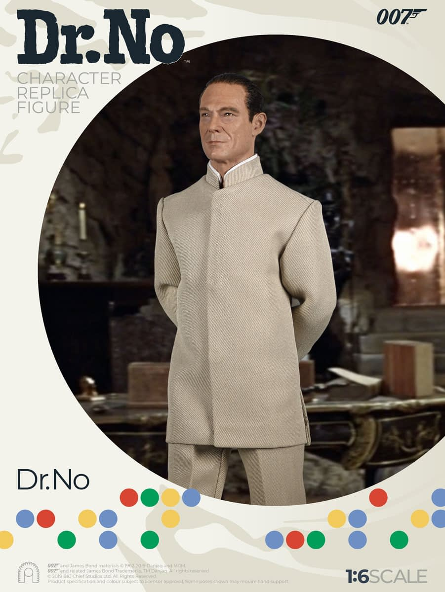 James Bond and Dr. No Get the Figure Treatment with Big Chief Studios
