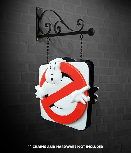 """""""Ghostbusters"""" Replica Firehouse Sign Hollywood Collectibles for Sale"""
