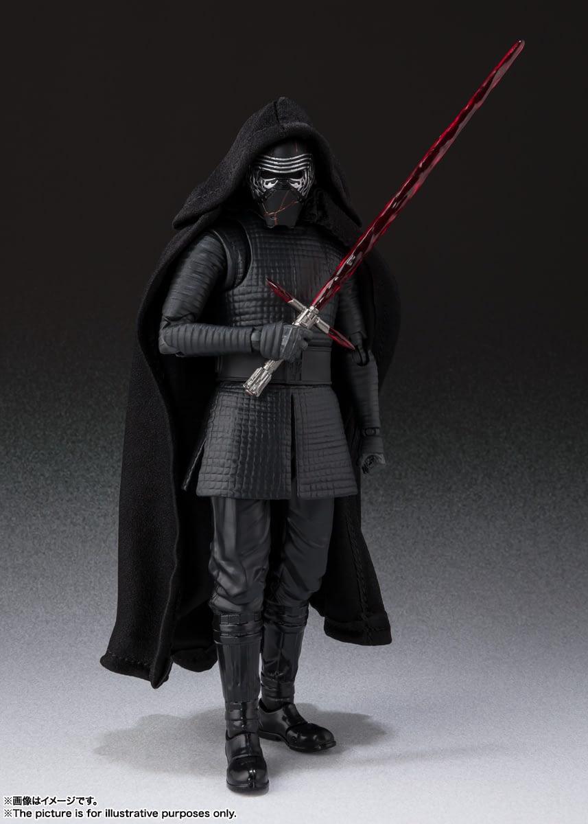Kylo Ren, Rey and Sith Trooper Get New S.H Figuarts Figures