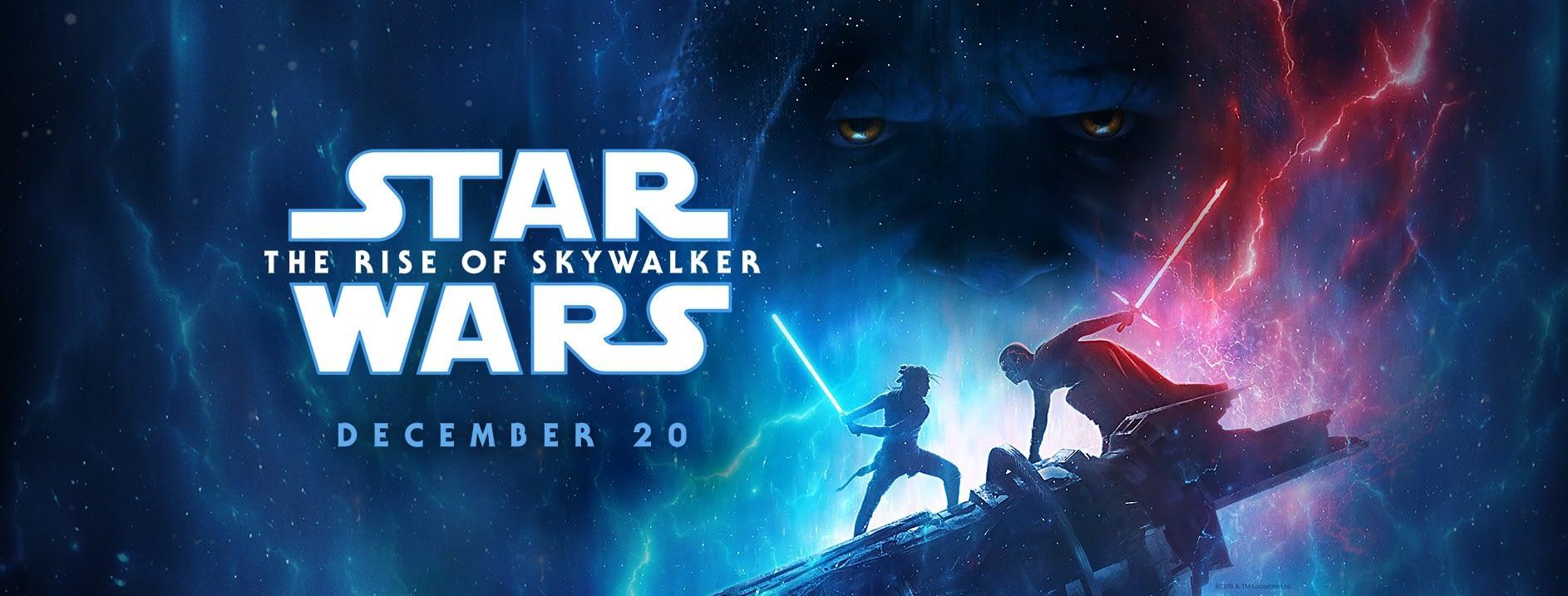 Resultado de imagem para STAR WARS: THE RISE OF SKYWALKER (DECEMBER 20, 2019)