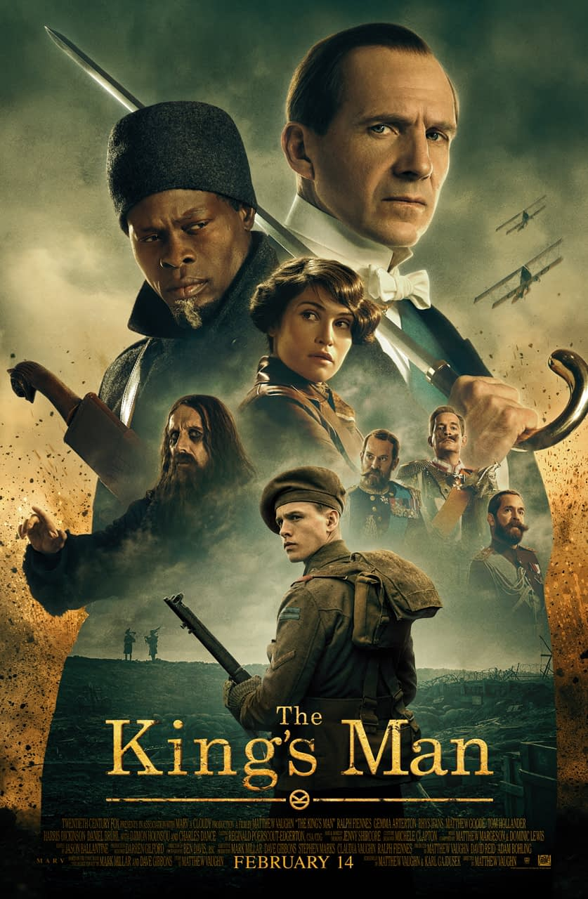 """""""The King's Man"""" Trailer Reveals More Origins of First Group Disney"""