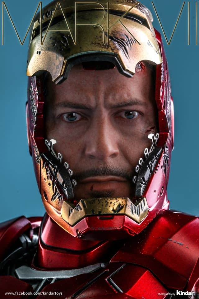 Hot Toys Celebrates Their 500th Creation with Iron Man Mark VII