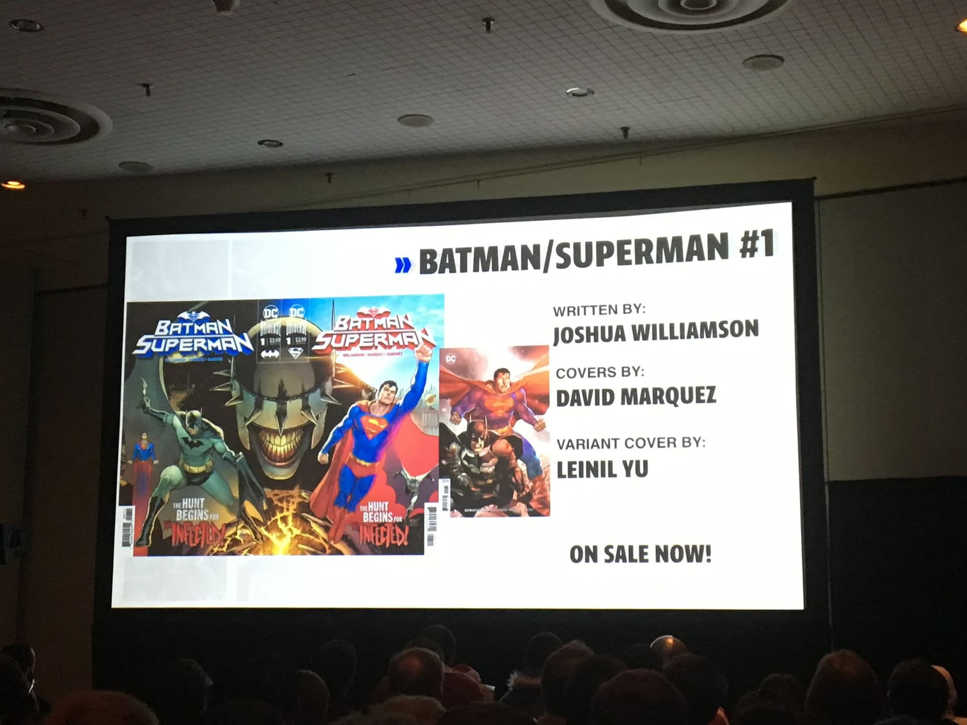 NYCC '19: DC Year of the Villain Panel