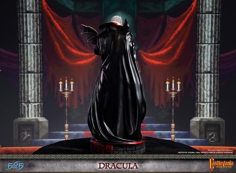 Dracula Takes the Night with New Castlevania Statue