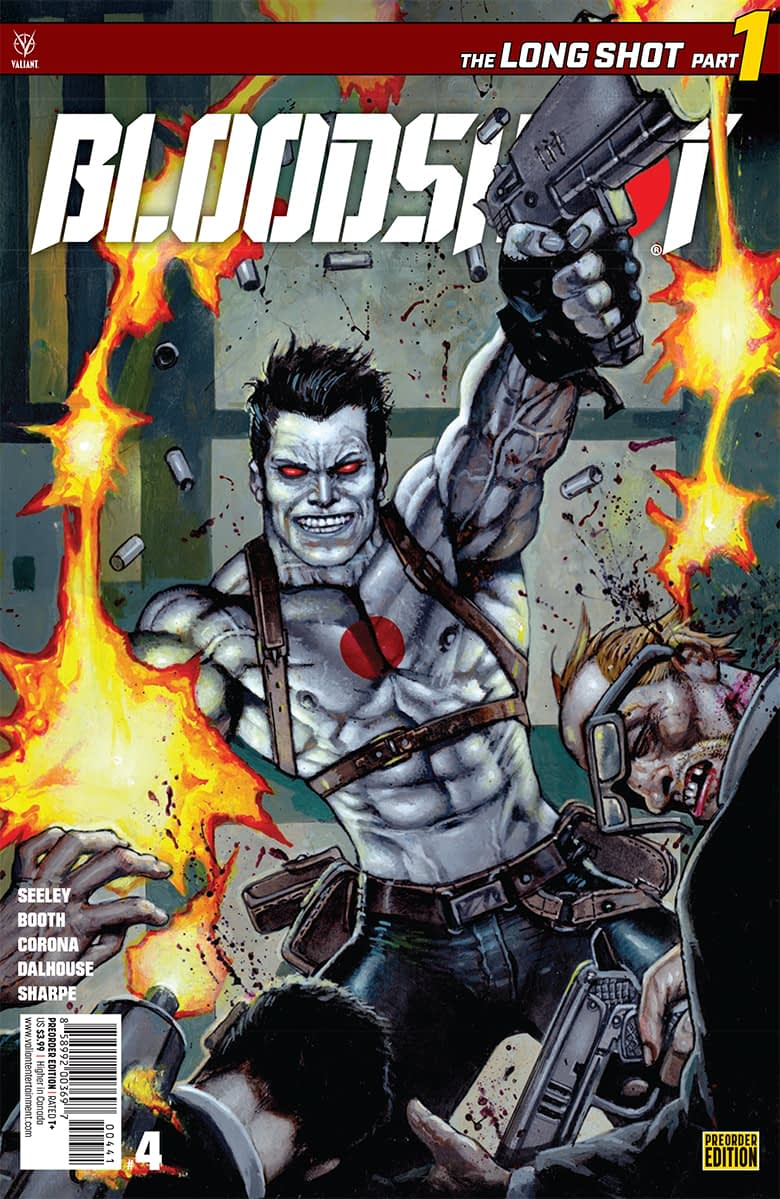 4 Pages from December's Bloodshot #4