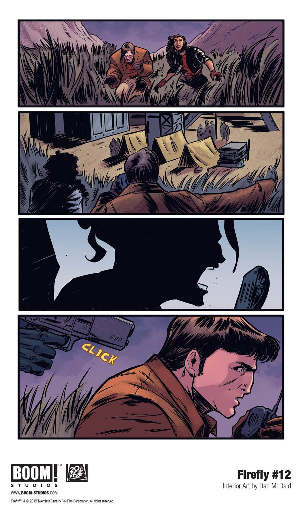 3 Pages from December's Firefly #12