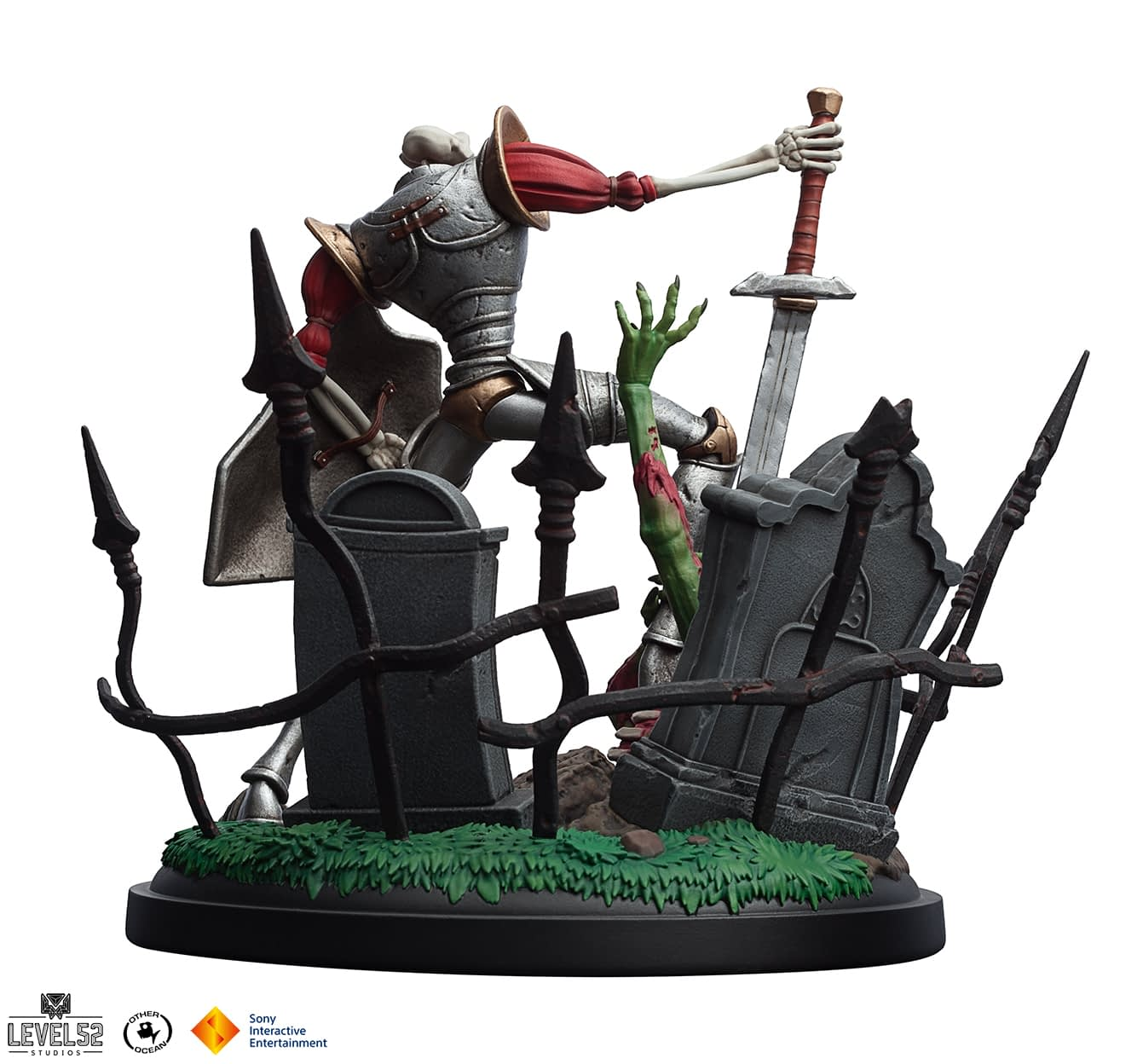 Medieval's Sir Dan Stands Proud in New Level 52 Statue