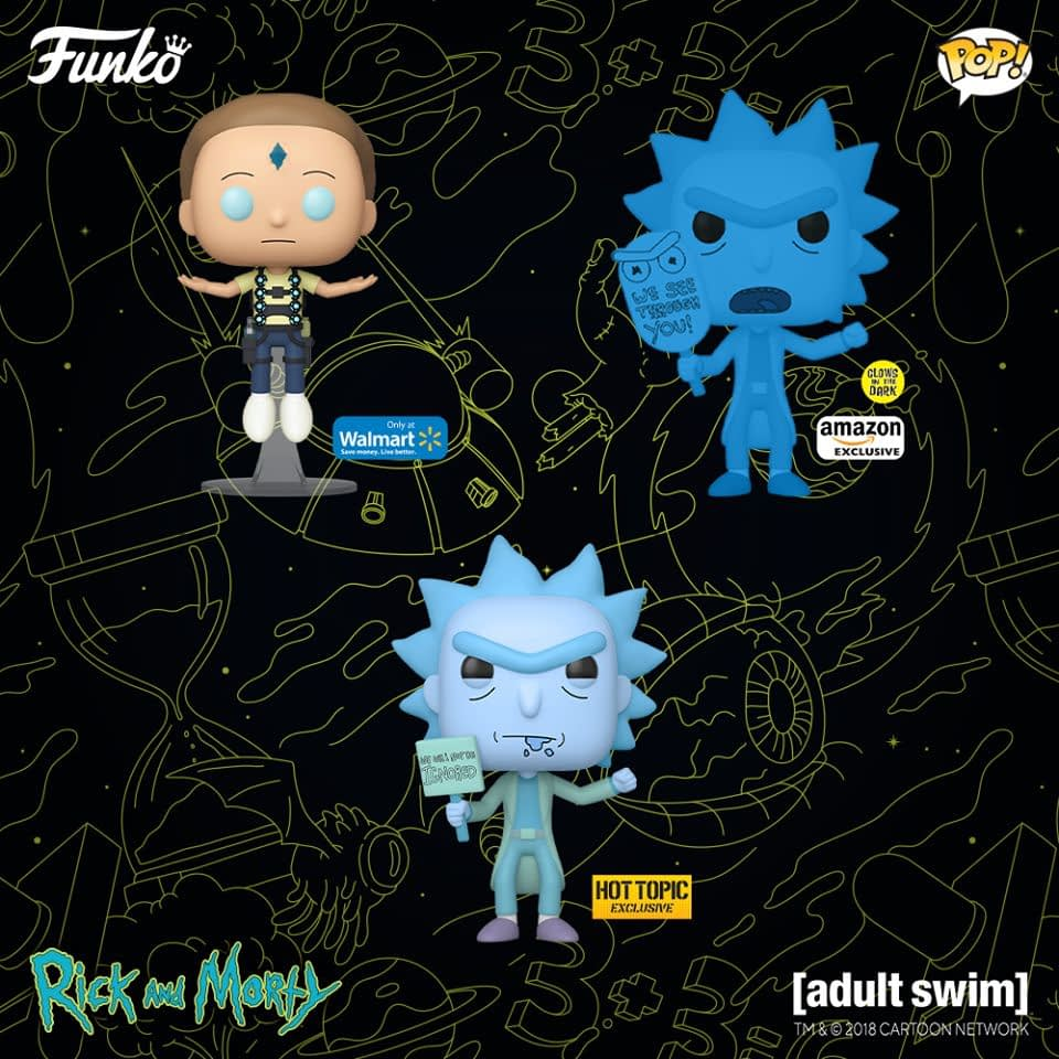Rick and Morty Get Season 4 Funko Pops Before Shows Premiere