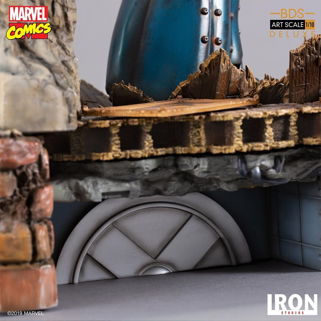 The X-Men Take on a Sentinel in New Iron Studios Statue