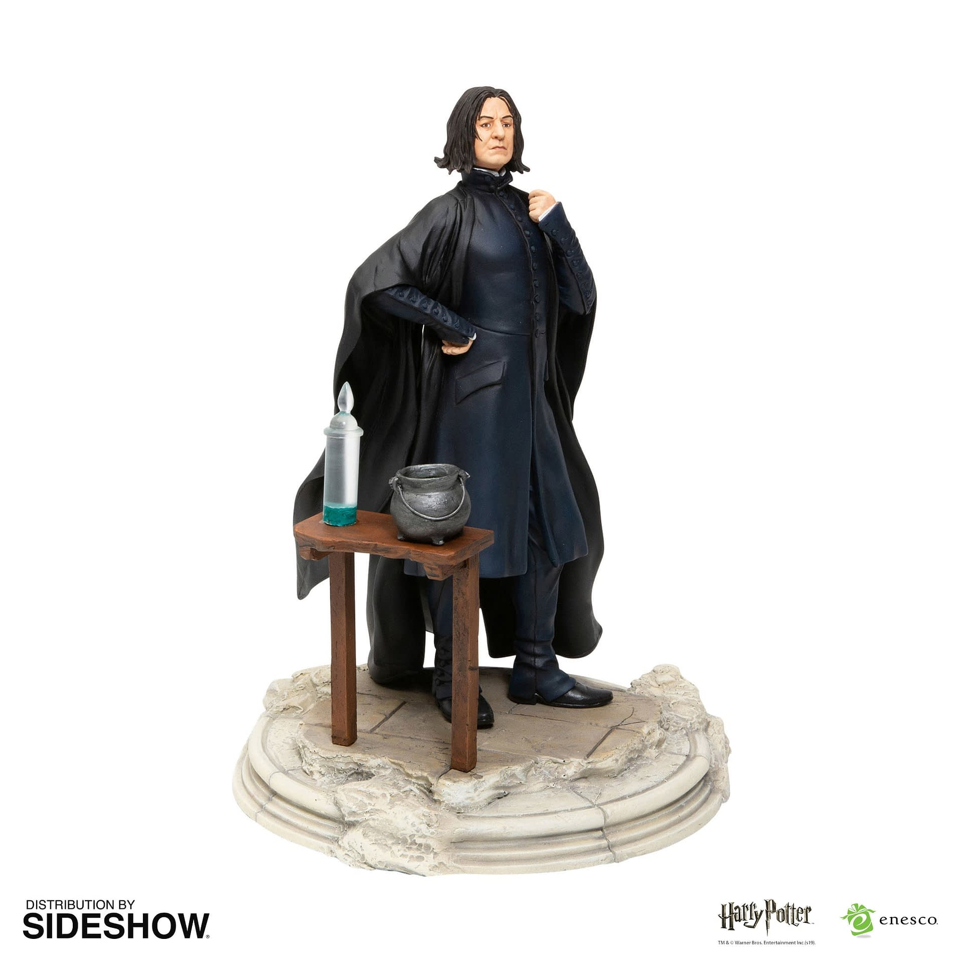 Professor Snape Is Your Dark Arts Teacher with a New Statue
