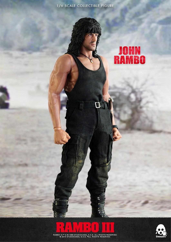Rambo III Makes Its Mark with New 1/6 Scale Figure from Threezero
