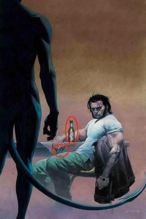 Qu'est-ce que Esad Ribic a essayé de nous dire à propos de Wolverine en 2003?