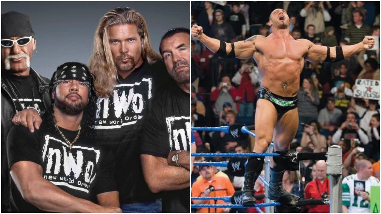 Wwe Hall Of Fame 2020 Full Show.Wwe Hall Of Fame New World Order Nwo Dave Bautista Inductees